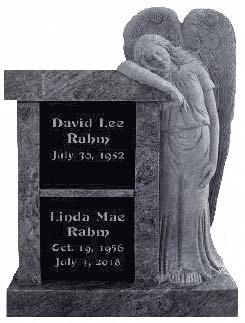 cremation headstone memorial
