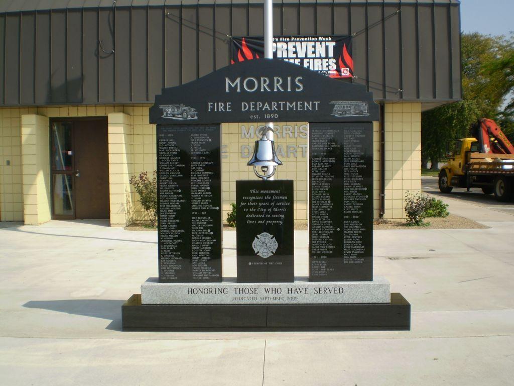 granite fire department memorial