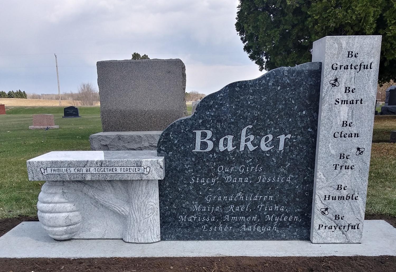 Baker Memorial Bench