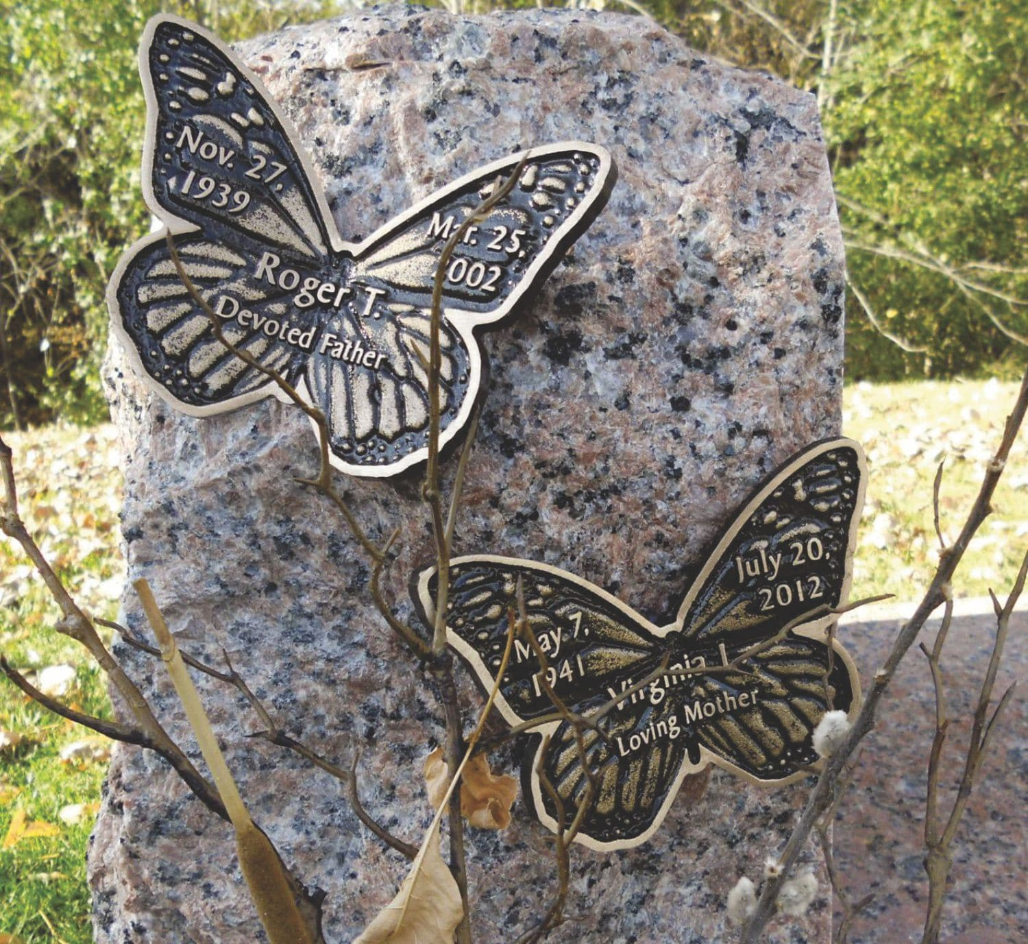 Gifts & Home Bronze Butterfly