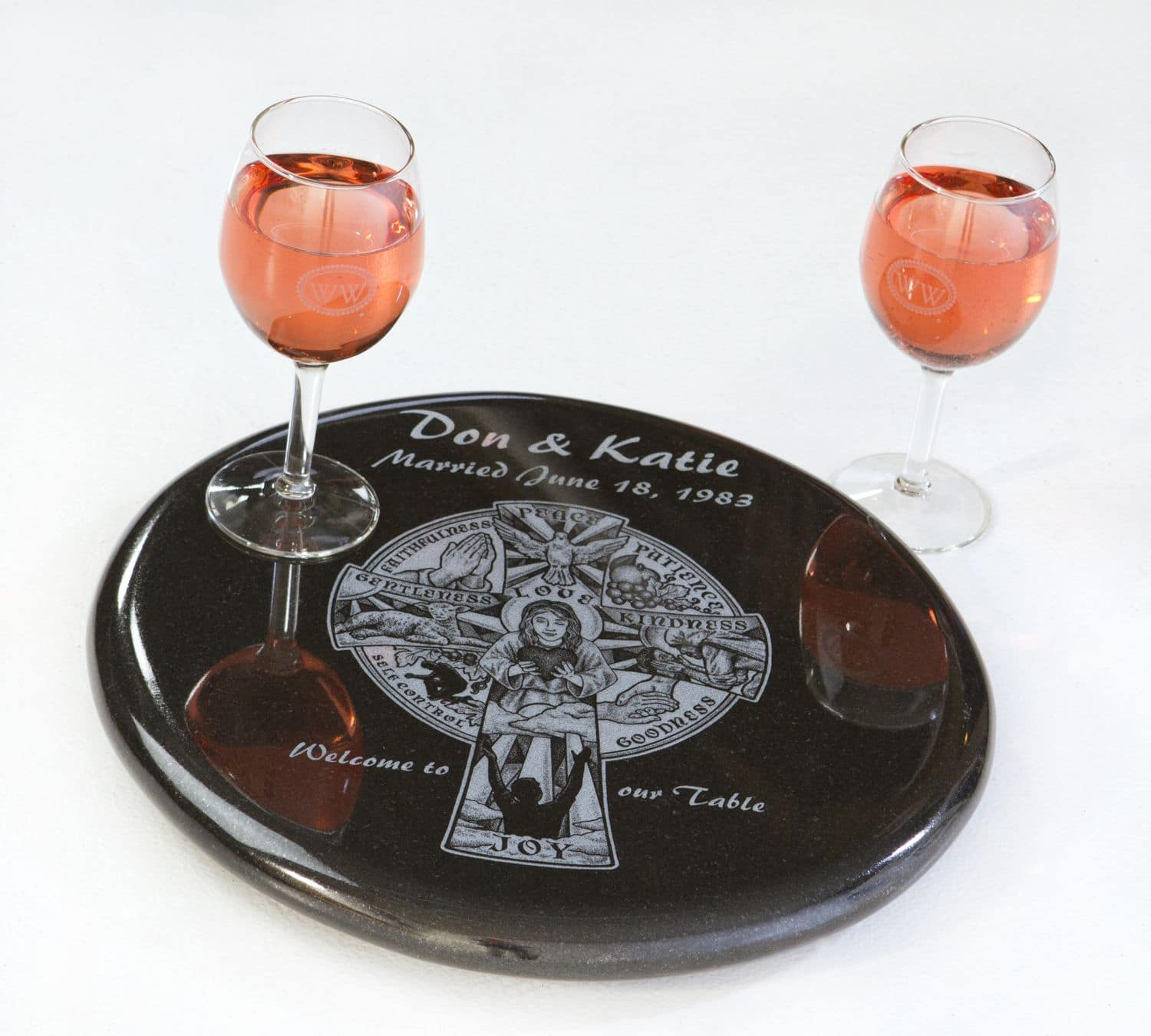 Gifts & Home Granite Lazy Susan