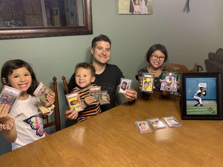 Brandon Drontle on Blessings & Baseball Cards