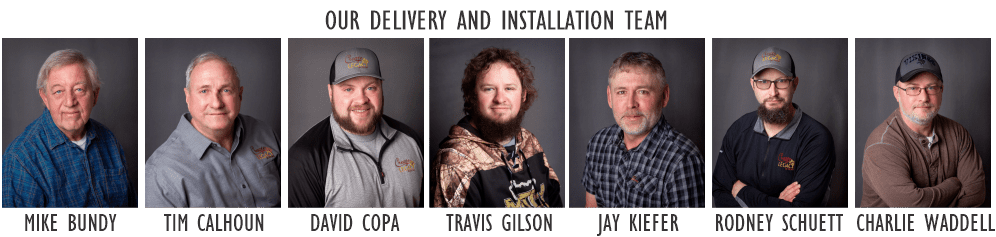 Legacy in Stone Delivery and Installation Team