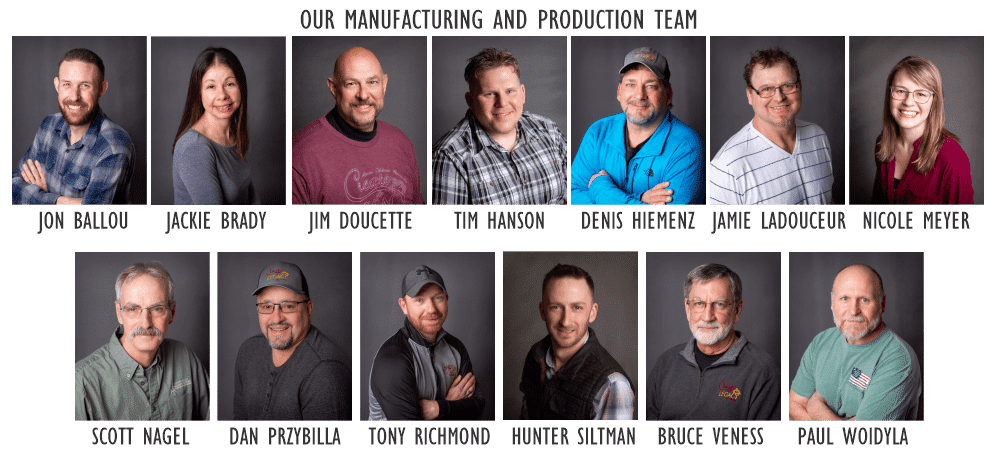 Legacy in Stone Manufacturing Team